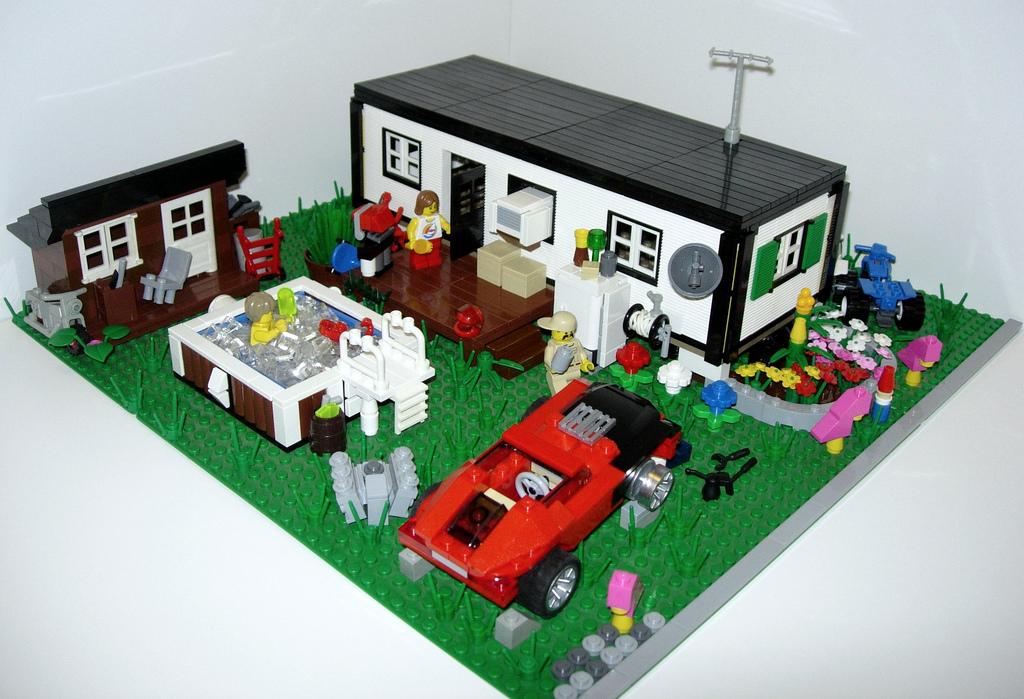 Custom Lego Wedding Cake Topper