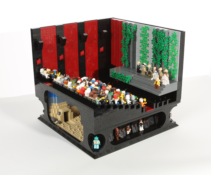 Winners Of Eurobricks Star Wars Forum Epic Scenes Contest A Modular Life