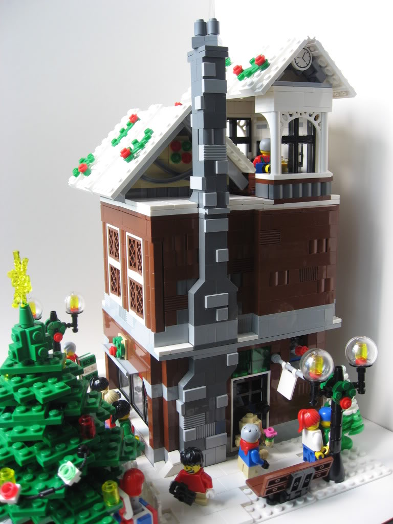 My Modular Winter Toy Shop A Modular Life