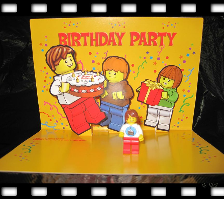 lego birthday party kit