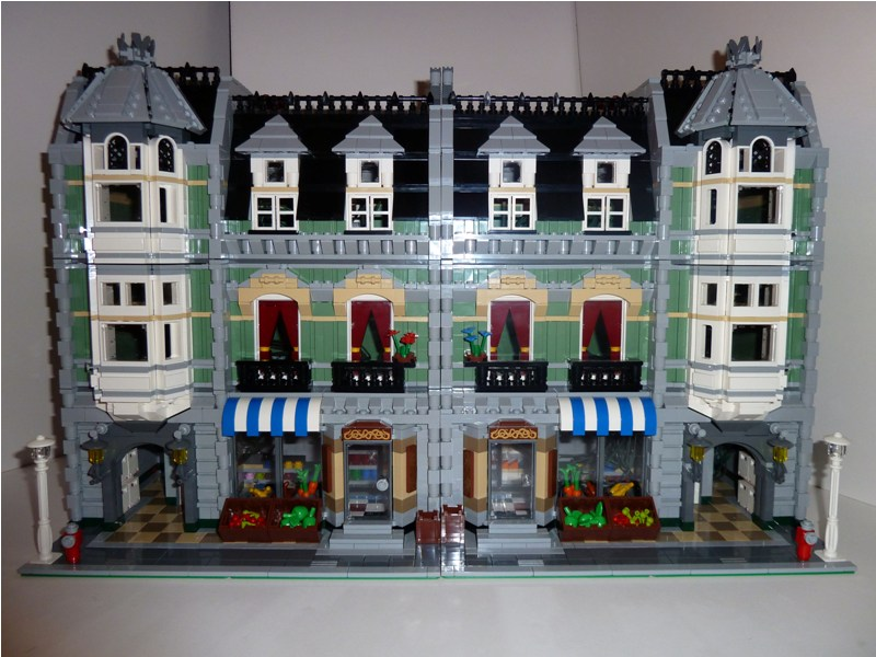 Modular Buildings Lego Boxes