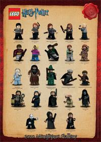 Free Harry Potter 2010 Minifigure Poster A Modular Life
