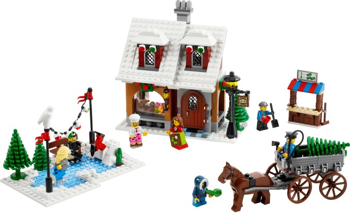Winter Toys 10 And Up : Winter village bakery vs toy shop a modular life