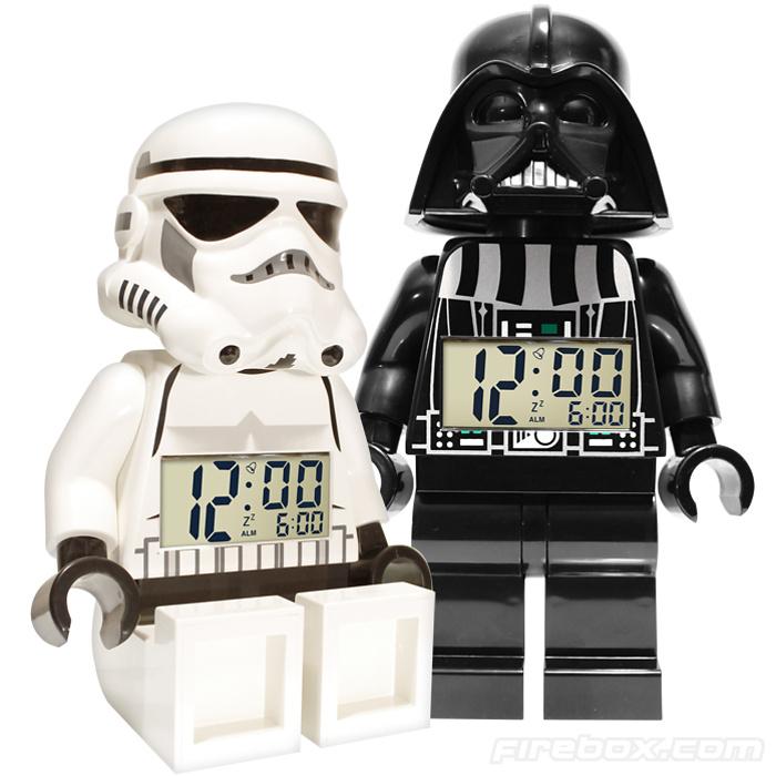 star wars lego alarm clocks a modular life. Black Bedroom Furniture Sets. Home Design Ideas