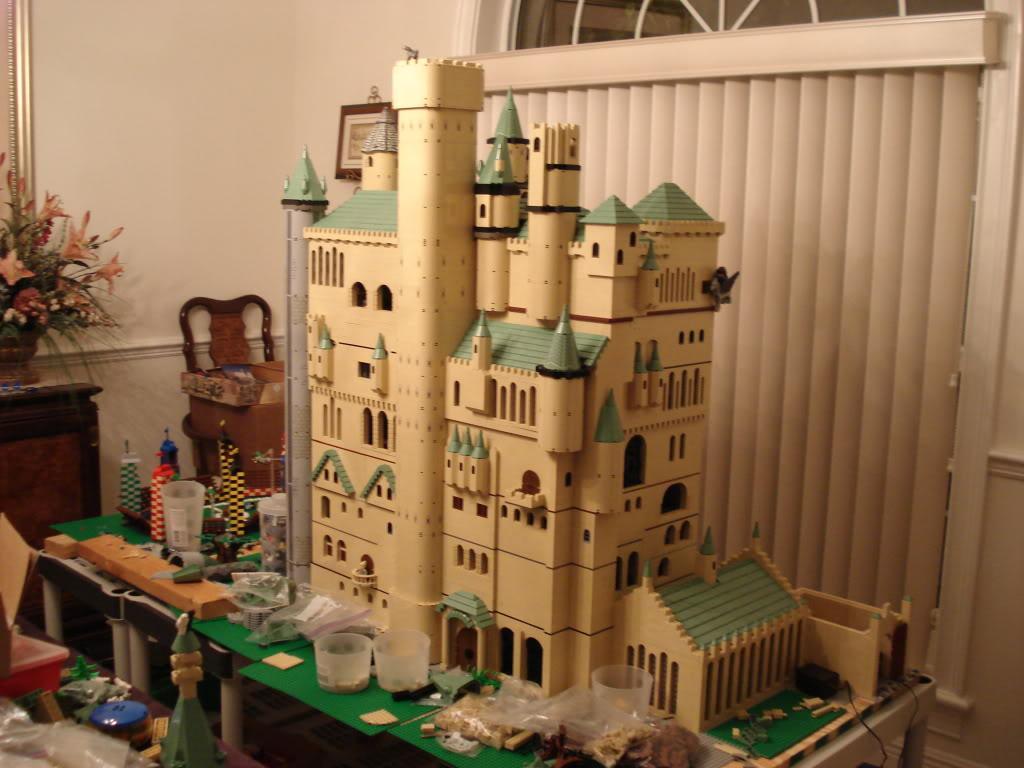 huge harry potter hogwarts castles a modular life. Black Bedroom Furniture Sets. Home Design Ideas