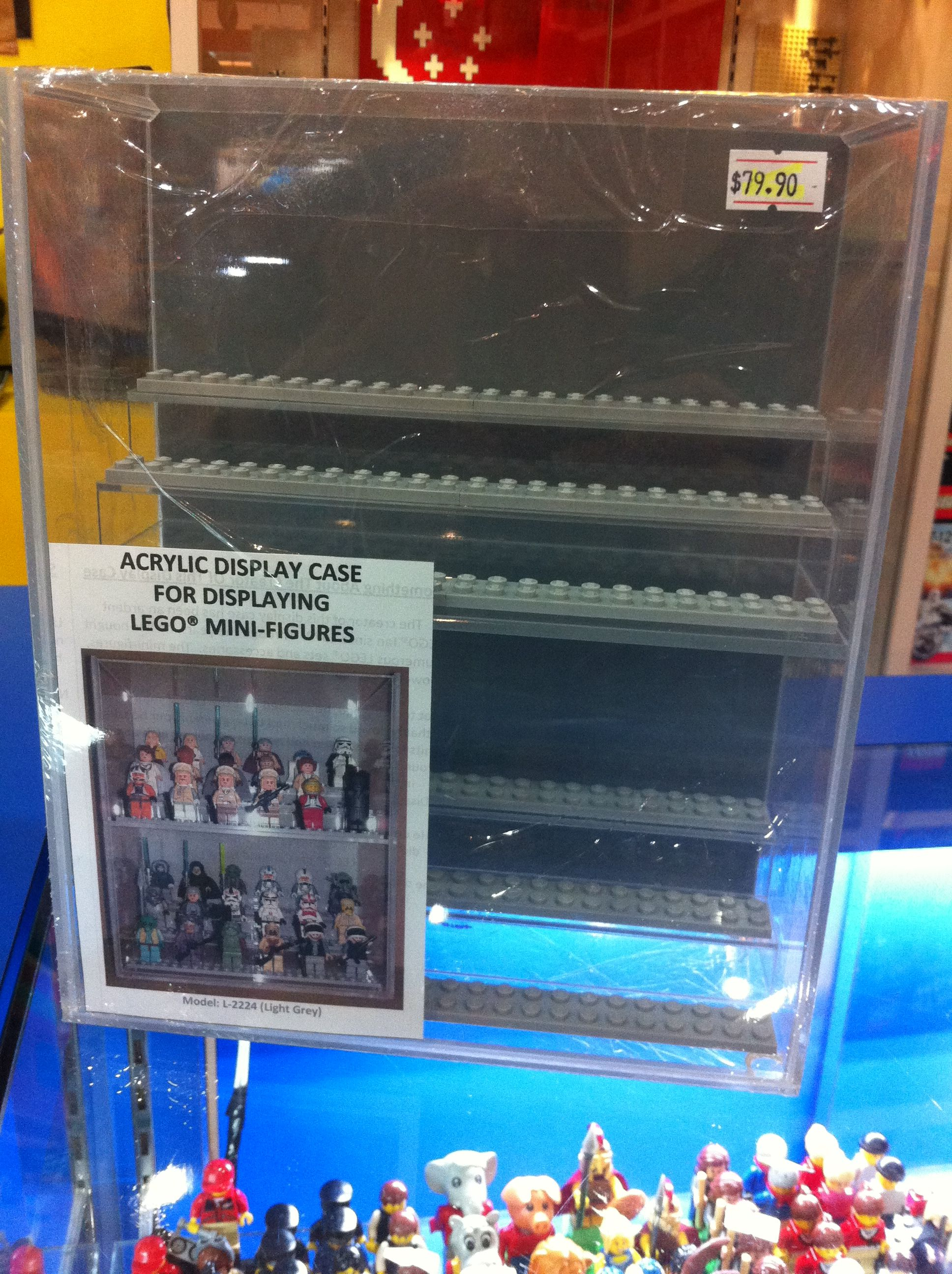 Acrylic Display Cases For LEGO