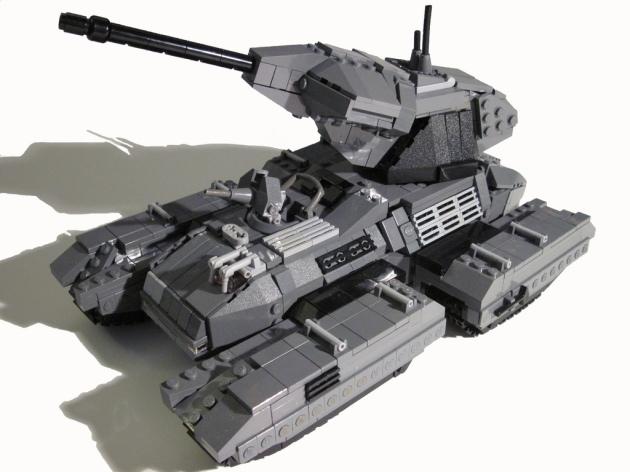 [LEGO] Créations d'oeuvres célèbres - Page 9 Scorpion-tank