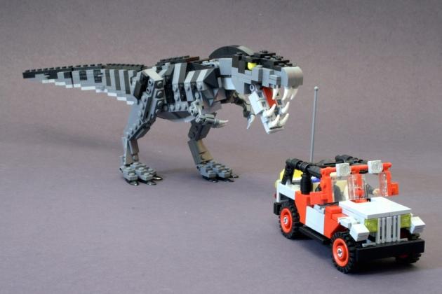 [LEGO] Créations d'oeuvres célèbres - Page 9 T-rex