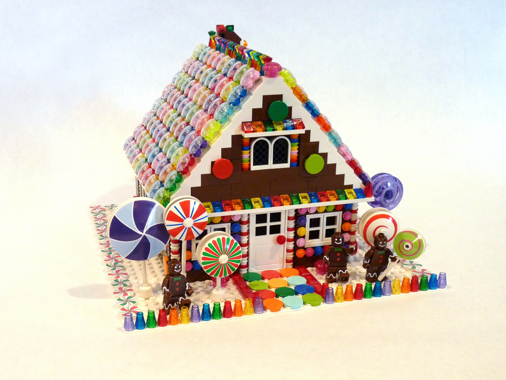 Candy Gingerbread House Decorating Ideas