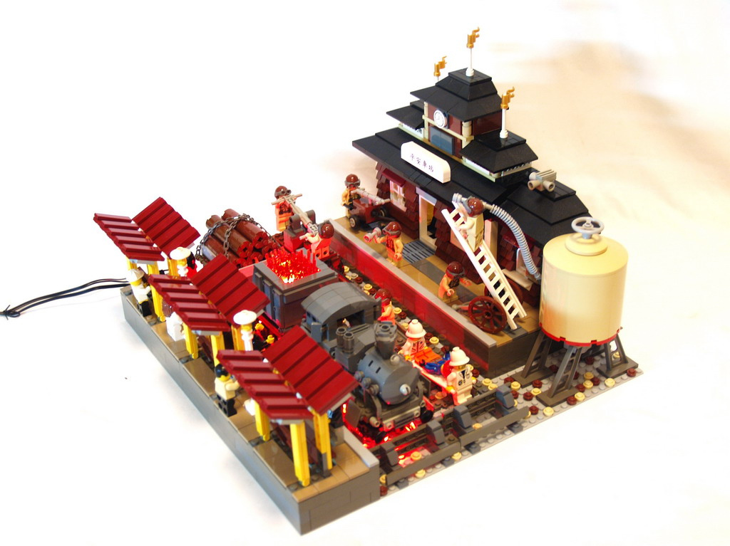 Image Result For Lego Ninjago Fire