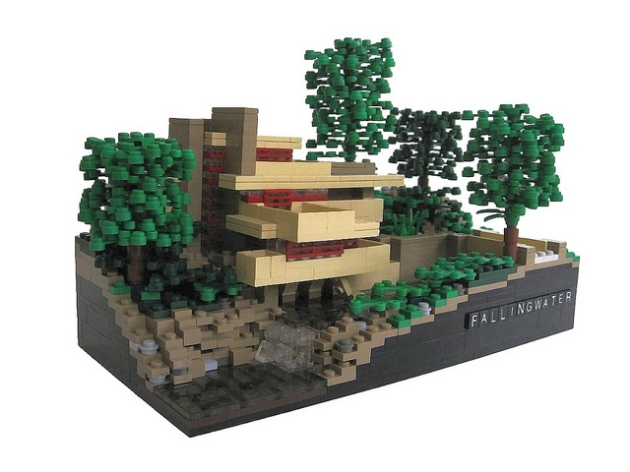 Trains a modular life - Falling waters lego ...