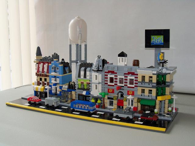 Modular Buildings Lego Shop