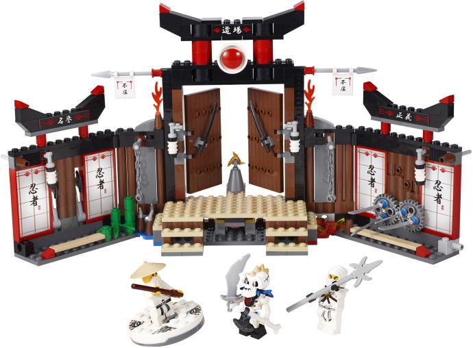 Lego Ninjago 2173 Ninja Go NUCKAL con Spinner MOC 2011