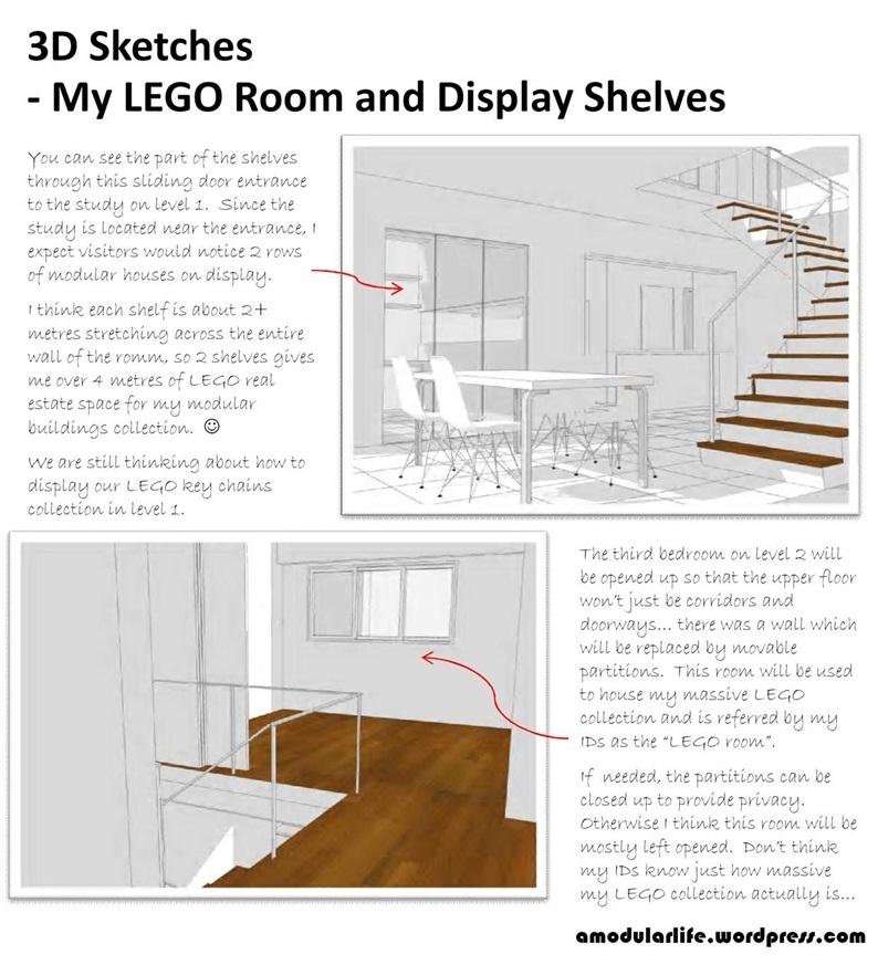 My Future Lego Room And Display Shelves A Modular Life