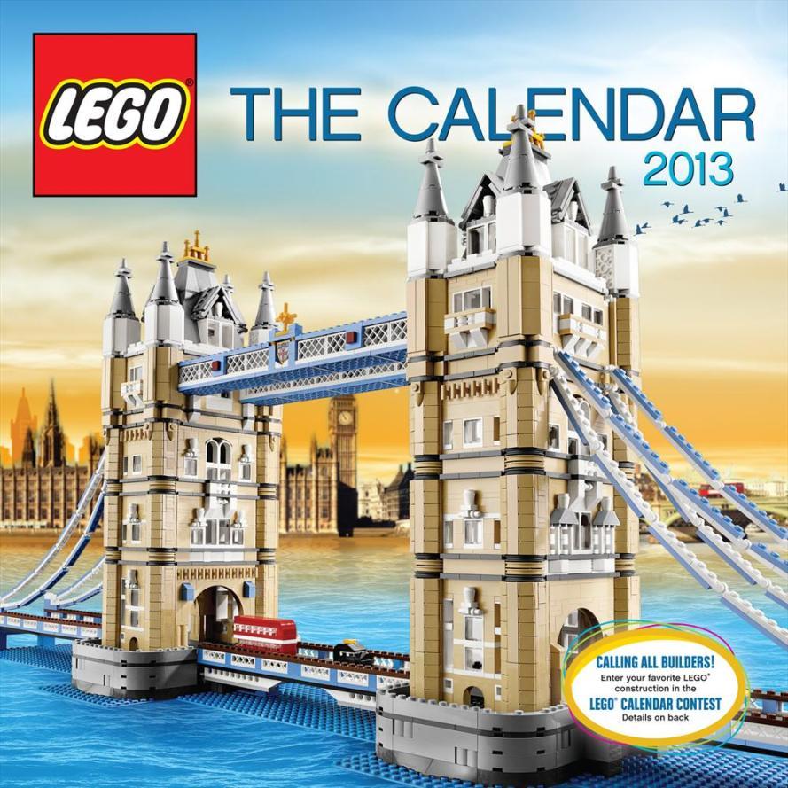 LEGO calendar 2013 « A Modular Life